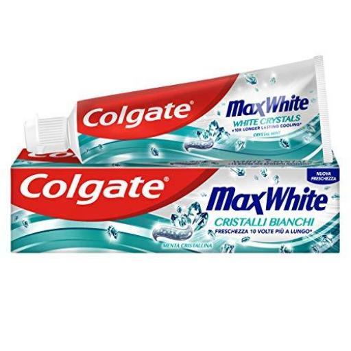 Dentífrico Colgate Max White 75 ml.