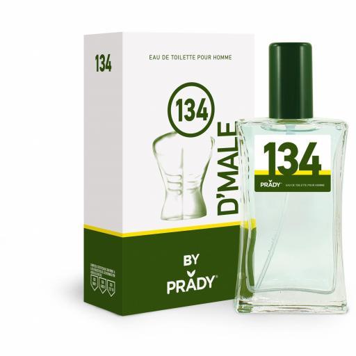 Nº134 D´MALE Homme Prady 100 ml.
