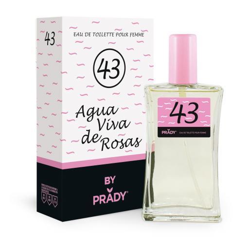 Nº43 Agua Viva de Rosas Femme Prady 100 ml.