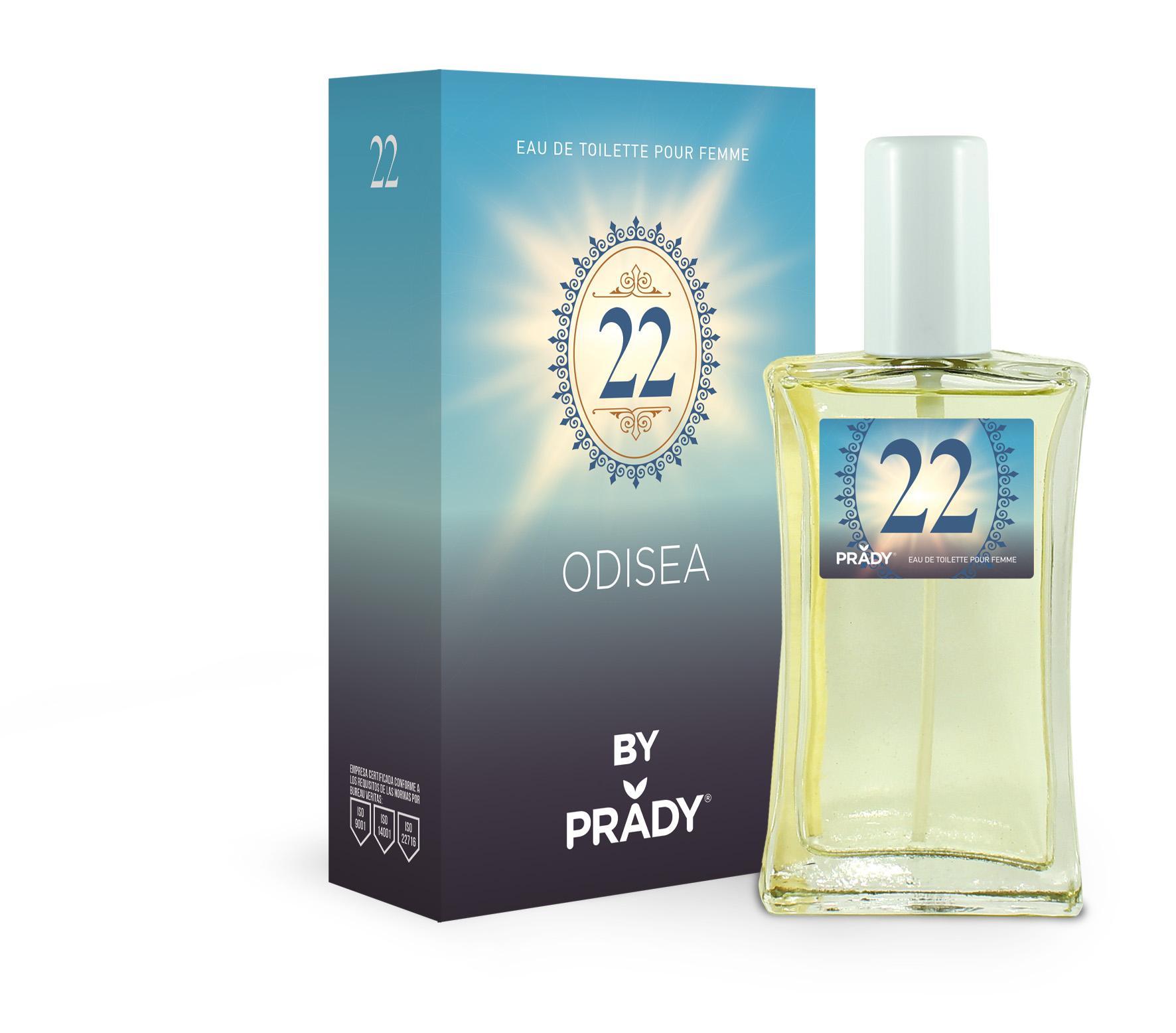 Nº22 Odisea Femme Prady 100 ml.
