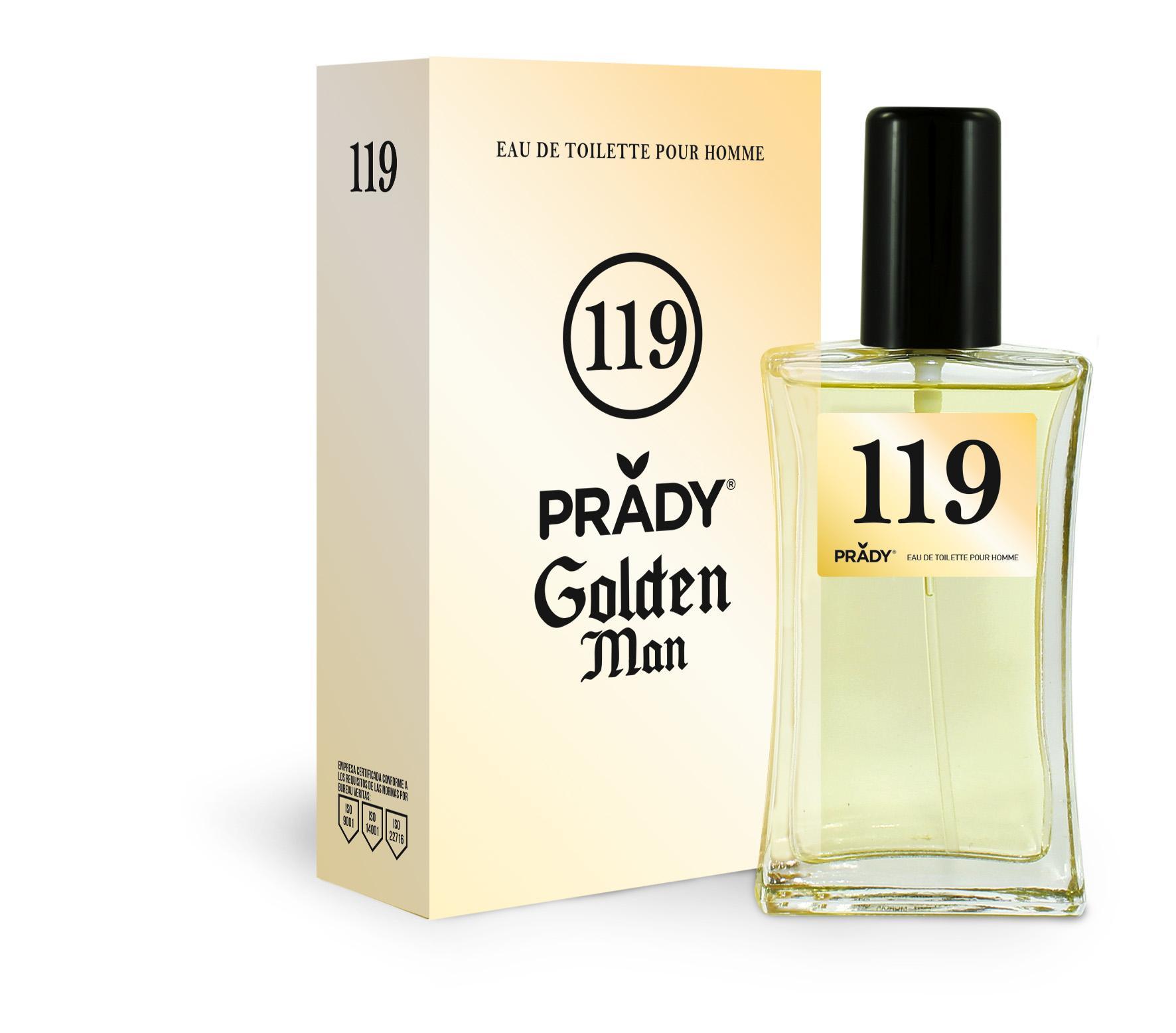 Nº119 Golden Man Prady 100 ml.