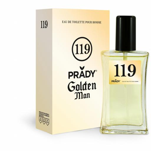 Nº119 Golden Man Prady 100 ml.