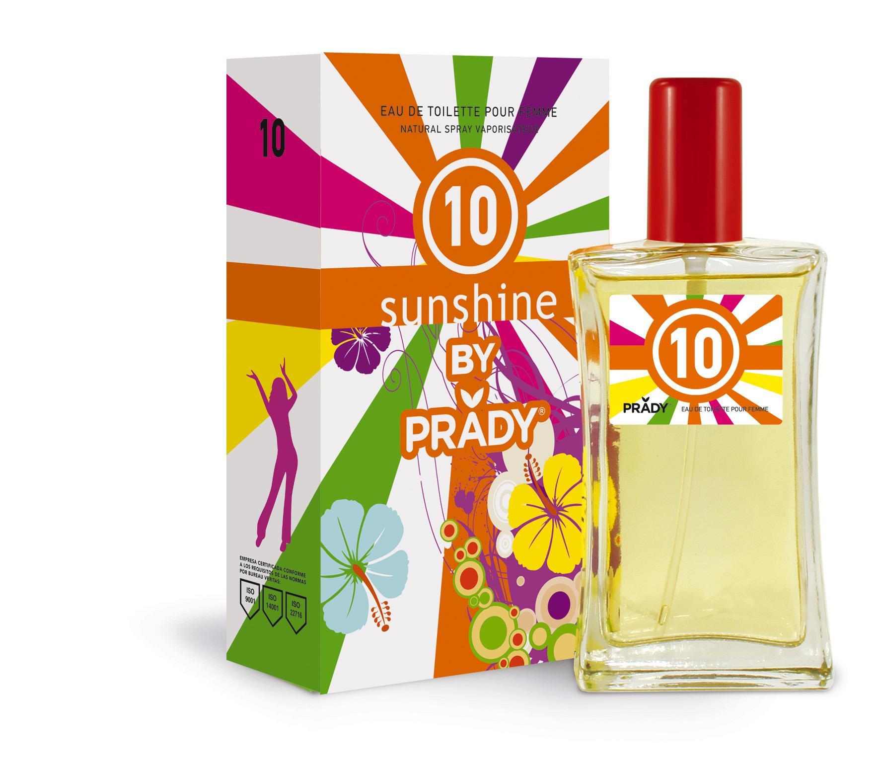 Nº10 Sunshine Femme Prady 100 ml.