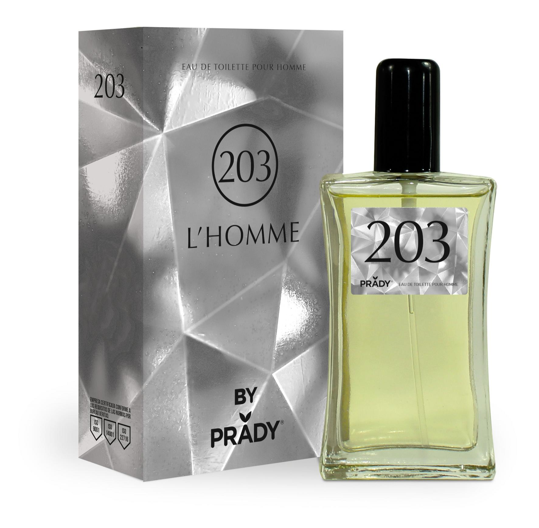 Nº203 L´HOMME Prady 100 ml.