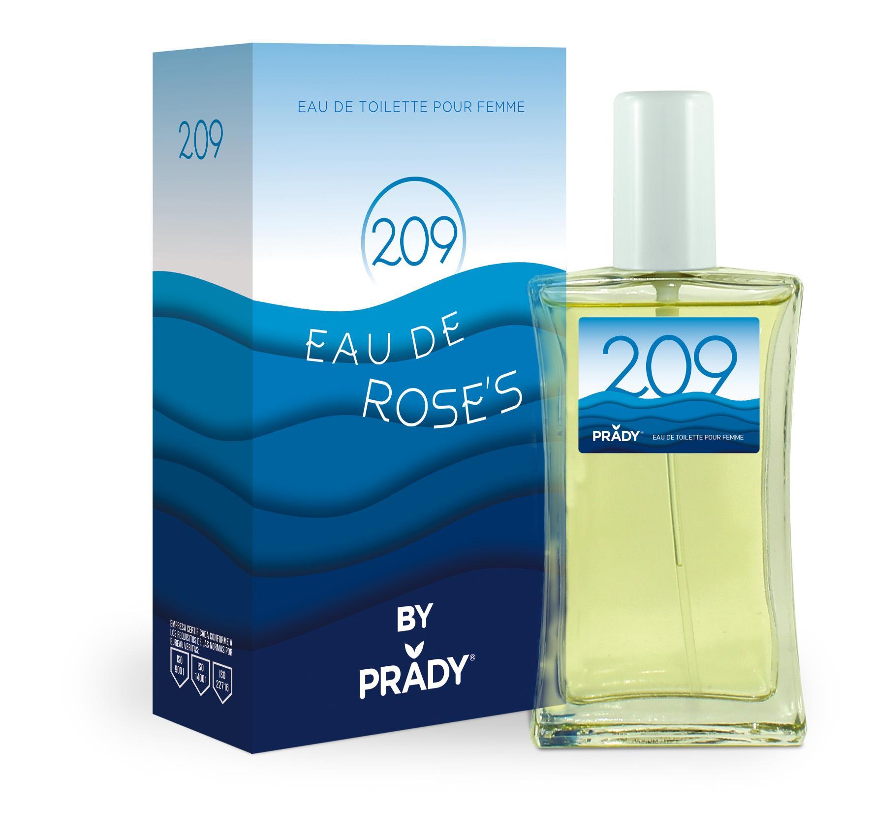 Nº209 Eau de Rose´s Femme Prady 100 ml.