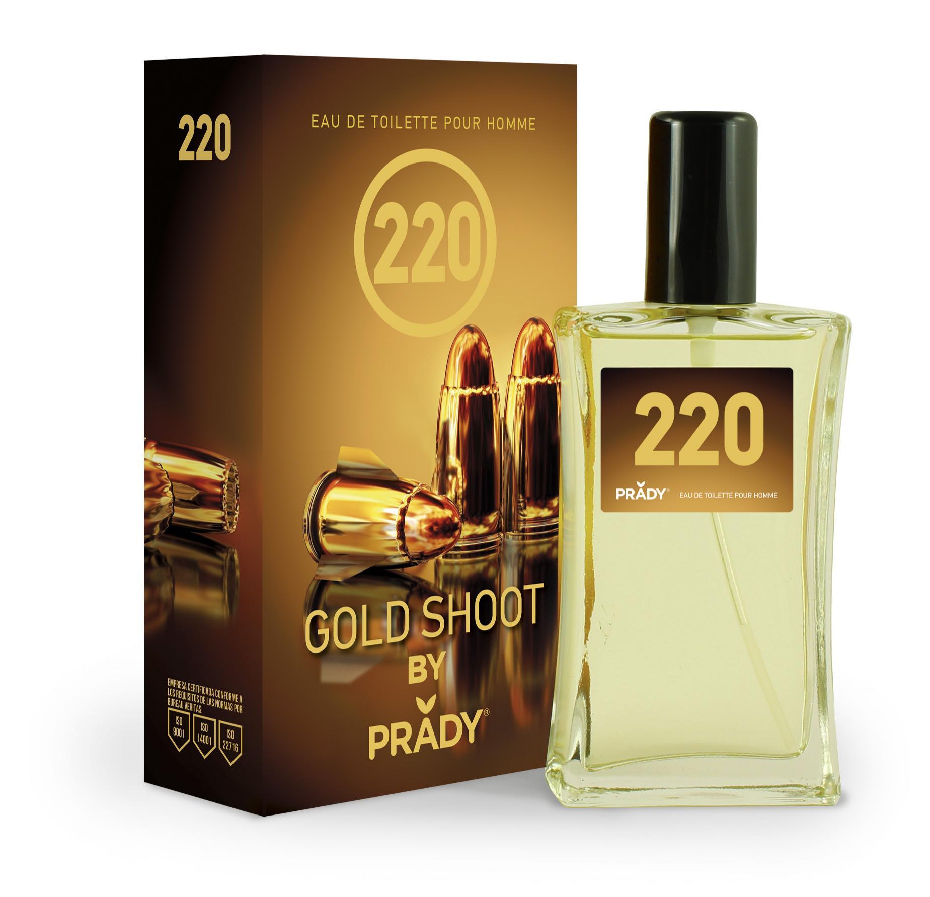 Nº220 Gold Shoot Homme Prady 100 ml.