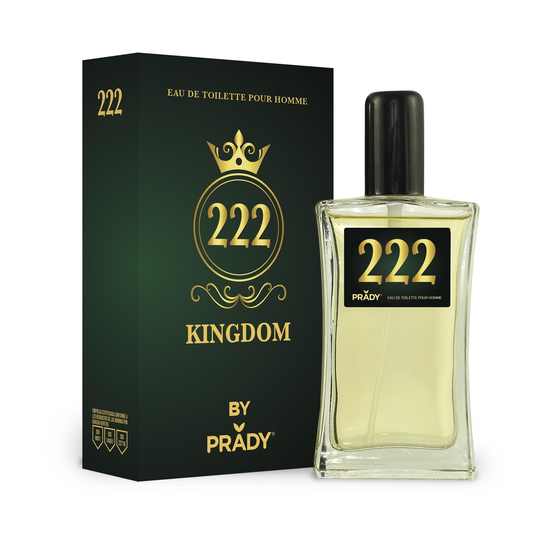 Nº222 KINGDOM Homme Prady 100 ml.