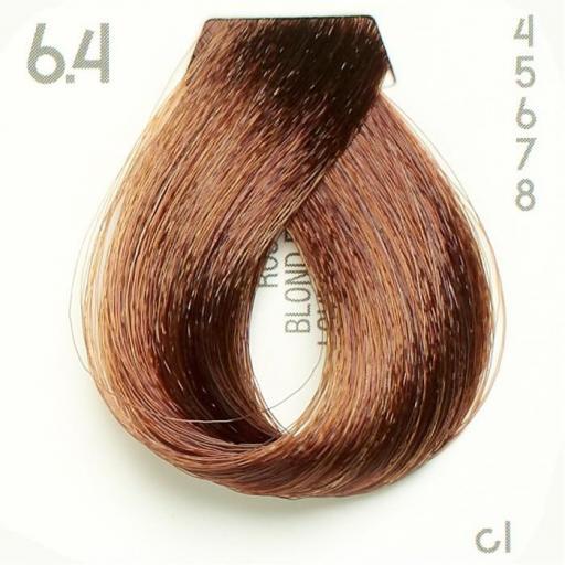 Tinte Nº 6.4 Hairconcept Evolution Orgánic 60 ml.