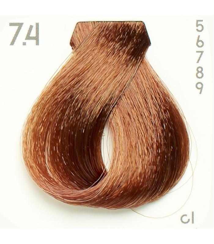 Tinte Nº 7.4 Hairconcept Evolution Orgánic 60 ml.