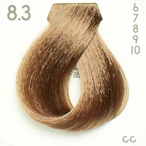 Tinte Nº 8.3 Hairconcept Evolution Orgánic 60 ml.
