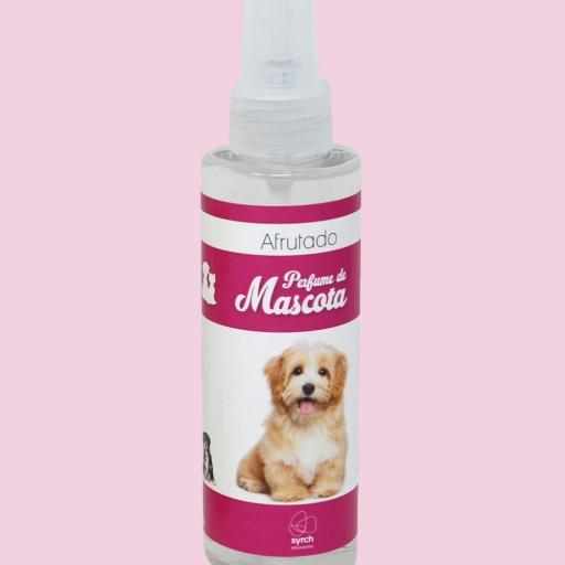 Perfume de Mascota Afrutado Syrch 150 ml.