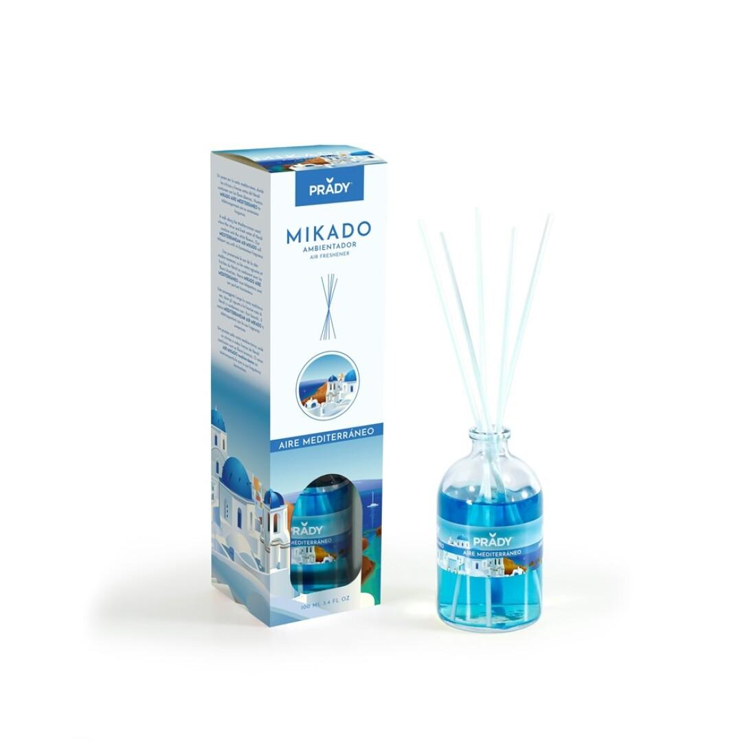 Ambientador Mikado Aire Mediterráneo Prady 100 ml.