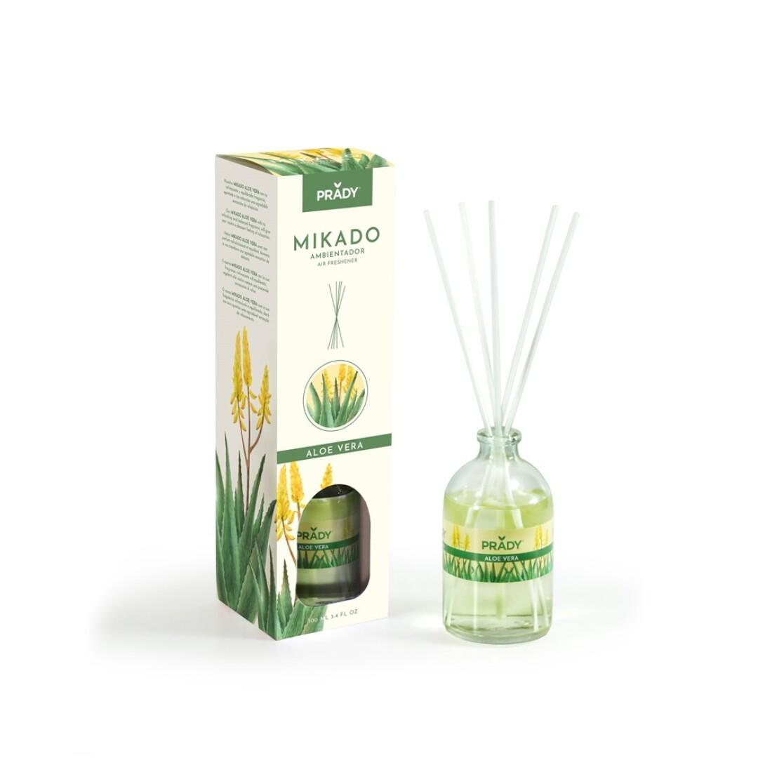 Ambientador Mikado Aloe Vera Prady 100 ml.