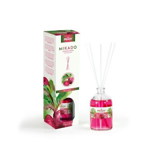 Ambientador Mikado Betabel Prady 100 ml.