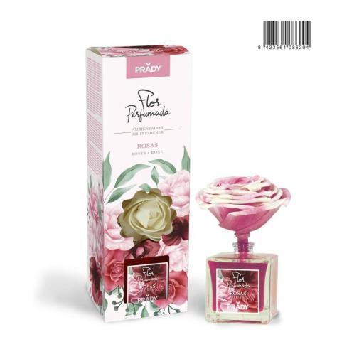 Mikado Flor Perfumada Prady Rosas 90 ml.