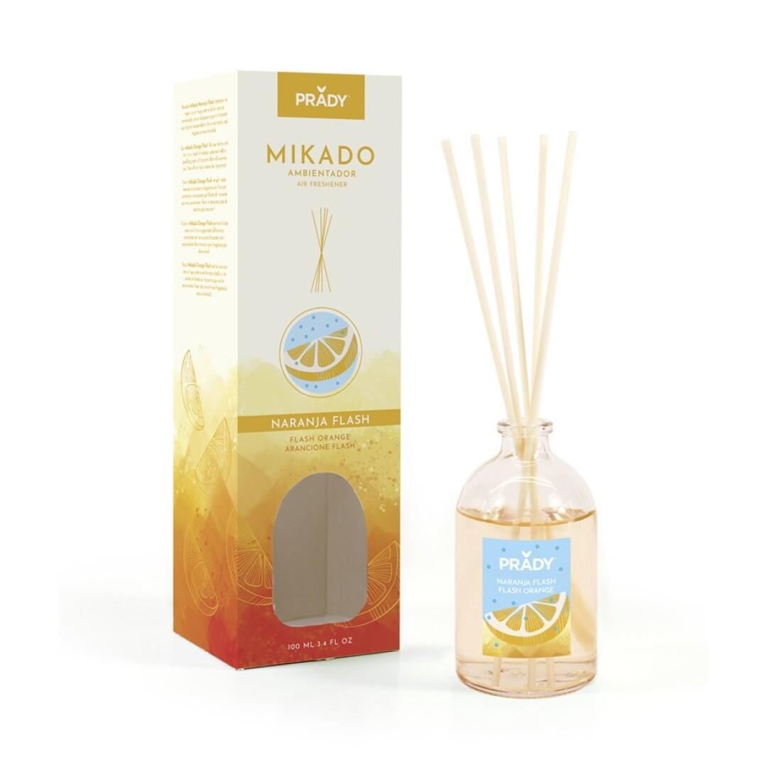 Ambientador Mikado Naranja Flash Prady 100 ml.