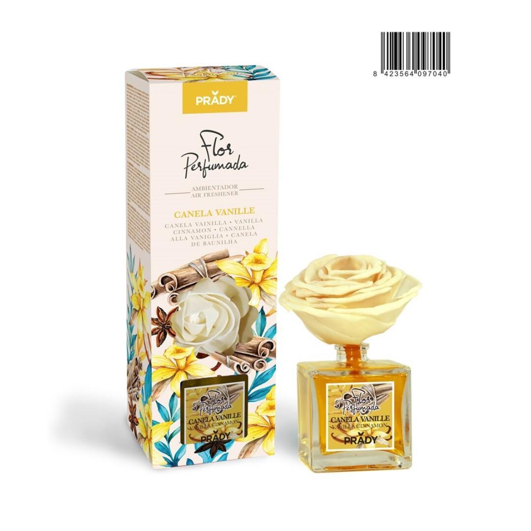 Mikado Flor Perfumada Prady Canela Vainille 90 ml.