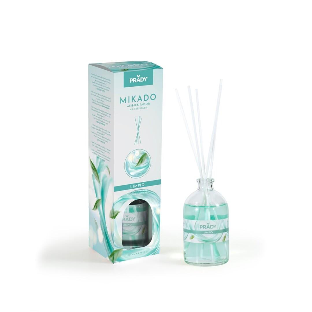 Ambientador Mikado Aroma Limpio Prady 100 ml.