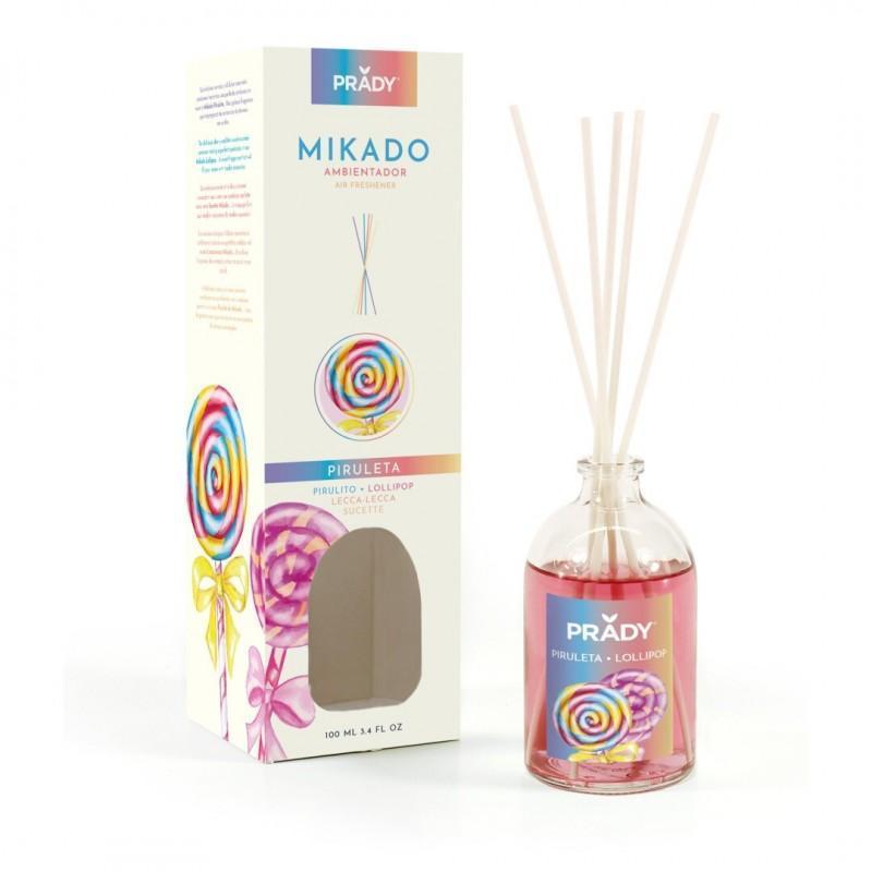 Ambientador Mikado Piruleta Prady 100 ml.