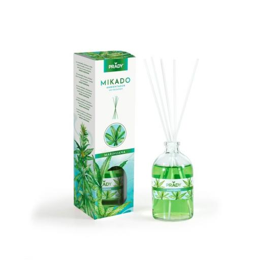 Ambientador Mikado Marihuana Prady 100 ml.