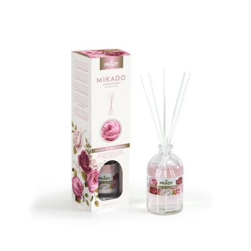 Ambientador Mikado Rosa de Bulgaria Prady 100 ml.