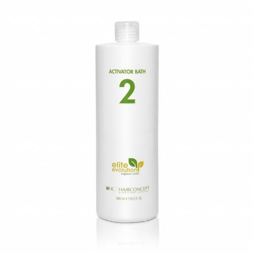 Hairconcept Organic BATH 2 (20 VOL.) 990 ml.