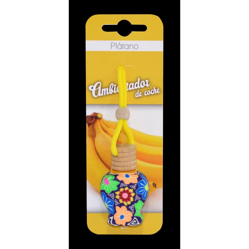 Ambientador de Coche Plátano Syrch 8 ml.