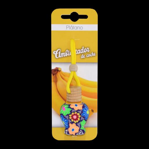 Ambientador de Coche Plátano Syrch 10 ml. [0]