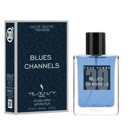 Blues Channels Pour Homme Yesensy 100 ml.
