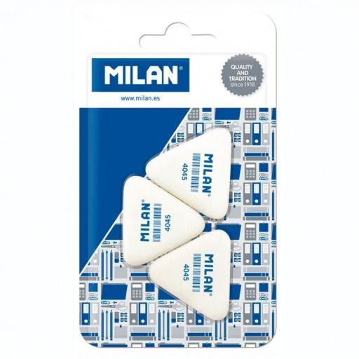 Blíster 3 Gomas Triangular 4045 MILAN
