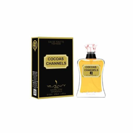 Cocoas Channels Pour Femme Yesensy 100 ml.