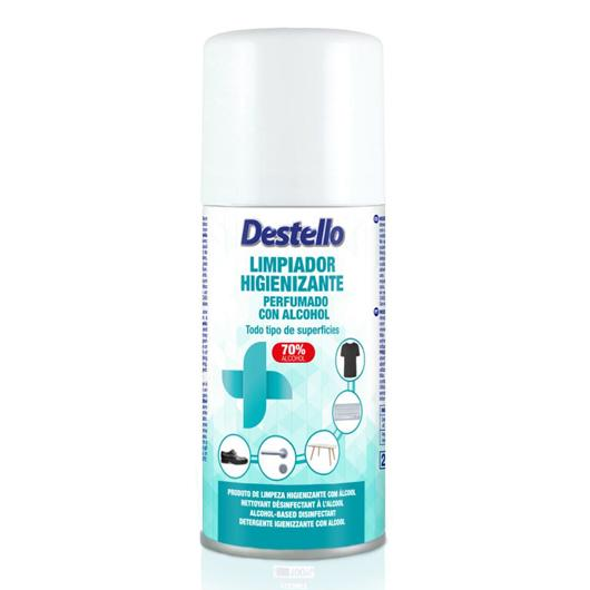 Limpiador Higienizante Perfumado con Alcohol 150 ml.