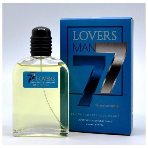 Lovers MAN 77 Pour Homme Naturmais 100 ml.