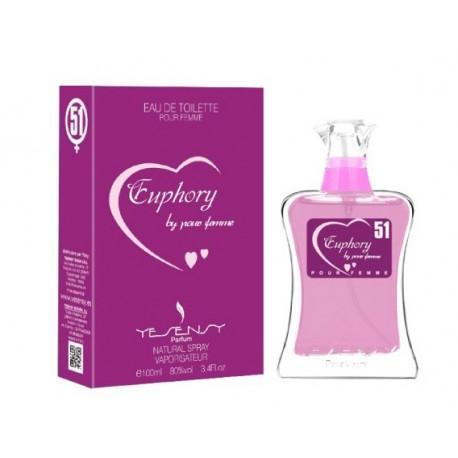 Euphory Pour Femme Yesensy 100 ml.