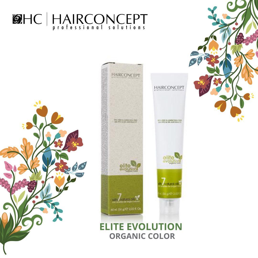 Tinte Nº 4.8 Hairconcept Evolution Orgánic 60 ml.