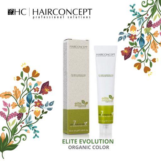 Tinte Nº 6.5 Hairconcept Evolution Orgánic 60 ml. [1]