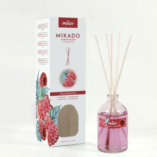 Mikado Frambuesa Prady 100 ml.