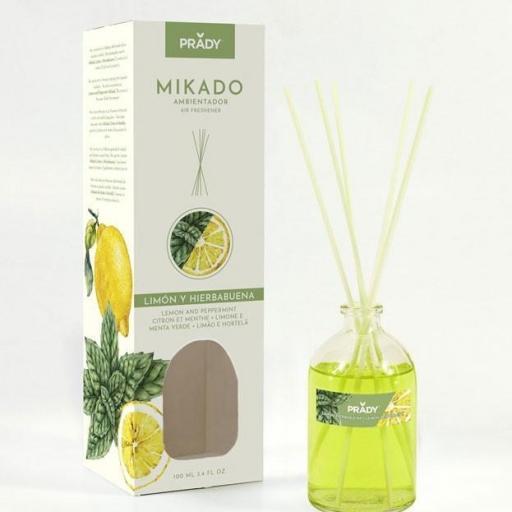 Mikado Limón y Hierbabuena Prady 100 ml.