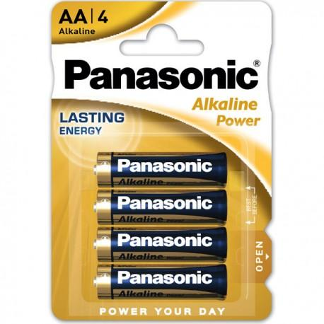 PANASONIC Blister 4 Pilas Alkaline Power AA 1,5V