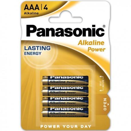 PANASONIC Blister 4 Pilas Alkaline Power AAA 1,5V