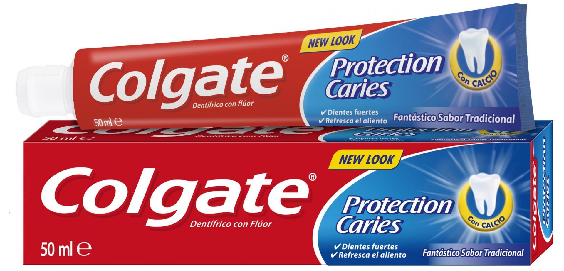 Dentífrico Colgate Protección Caries 50 ml.