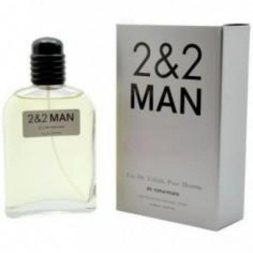 2&2 MAN Naturmais 100 ml.