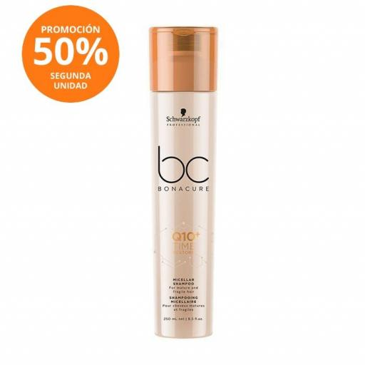 Champú Q10 Time Restore Micelar - 250 ml.