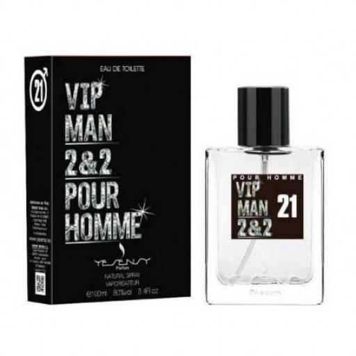 VIP MAN 2&2 Homme Yesensy 100 ml.