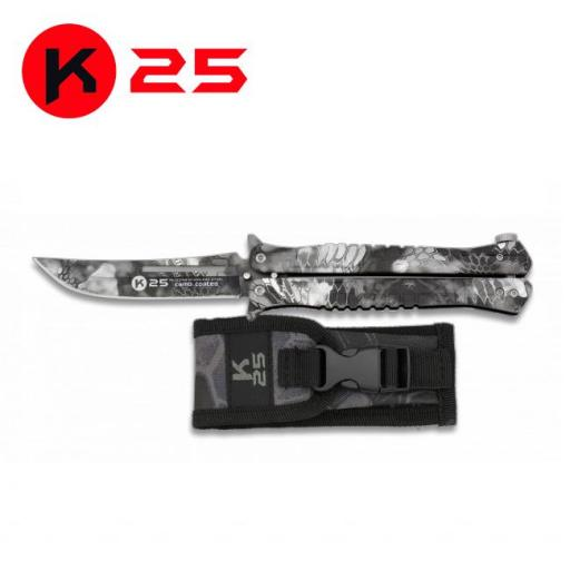 Abanico K25 Camo Negro Phyton