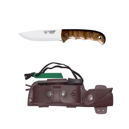 Cuchillo Bushcraft Kit Completo CUDEMAN