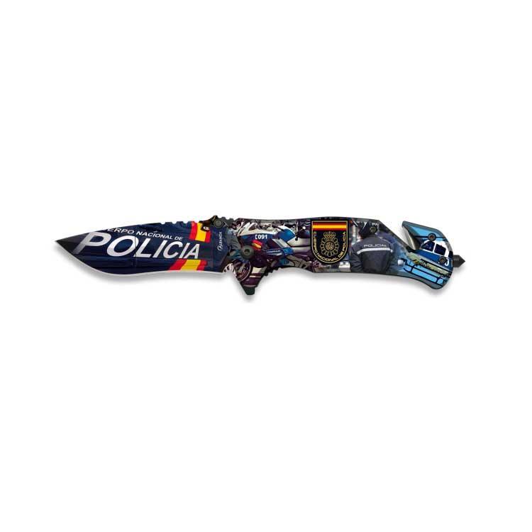 Navaja Asistida Policia Nacional 3D
