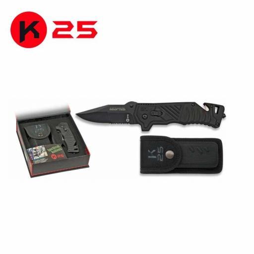 Navaja Tactica Negra K25