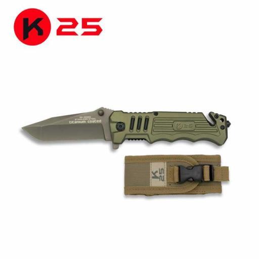 Navaja Tactica K25 Verde [0]