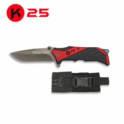 Navaja K25 Roja
